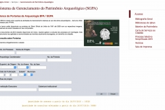Banco de Portarias de Arqueologia BPA / SGPA