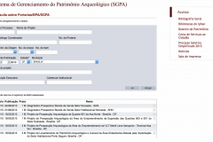 Banco de Portarias de Arqueologia BPA / SGPA - Resultado da Consulta