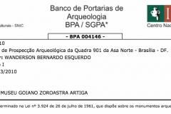 Banco de Portarias de Arqueologia BPA / SGPA - Detalhe